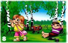 robiť hluk v lese