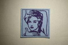 Madonna   Embroidered IronOn SewOn Patch