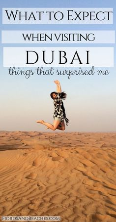 Are you visiting Dubai for the first time? Here's what to expect when visiting Dubai and some things that surprised me about Dubai! Have you visited? What is Dubai like? Visit Dubai. #visitdubai #dubai #dubaitravel #travel #cityguide