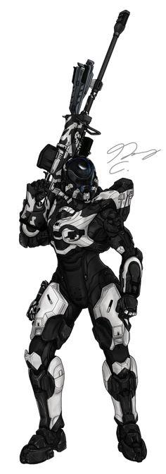 Commission - Spartan SystemLogic by Guyver89 on DeviantArt