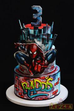 Spider-Man Cake by Nasa Mala Zavrzlama