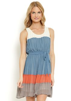 Just bought this! It's a Blu Pepper Pleated Dress (bought from ideeli)