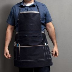 The Bookbinder's Apron / The Printmaker's Apron – The Barry Phipps Apparel Company