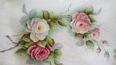 Caminho de mesa Pintura de Maurilia Oliveira