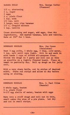 The grange range cookbook : favorite recipes fr. The grange range cookbook : favorite recipes fr. Amish Recipes, Old Recipes, Banana Bread Recipes, Cookbook Recipes, Pasta Recipes, Baking Recipes, Dessert Recipes, Homemade Cookbook, Skinny Recipes