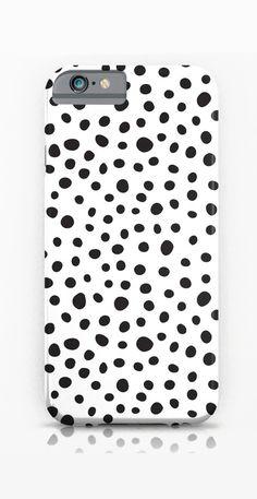 Black Spots iPhone & iPod Case