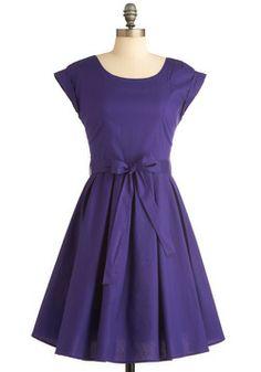Elegant Arrival Dress. not in purple though