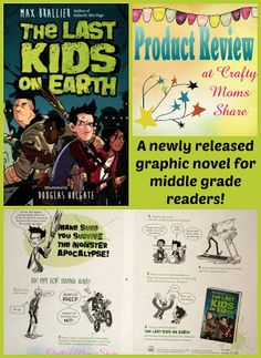 Crafty Moms Share: The Last Kids on Earth -- Book Review