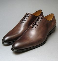Whole Cut Brown Oxfords Thomas Bird Shoes from Arthur Knight
