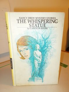 Nancy Drew #14 The Whispering Statue blue End Pages Carolyn Keene by RomanceWriter on Etsy