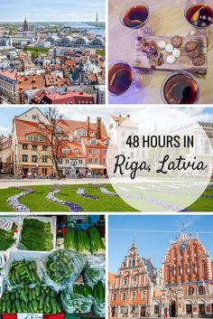 There are so many great things to do in Riga, Latvia, even if you only have 48 hours to spare. From getting a bird's-eye view of the city at St. Peter's to wandering the Art Nouveau neighborhood, there are plenty of fun things to do in Riga, Latvia. Europe Travel Tips, European Travel, Travel Advice, Places To Travel, Travel Destinations, Vancouver Tourist Attractions, 24 Hours In London, Baltic Cruise, Riga Latvia