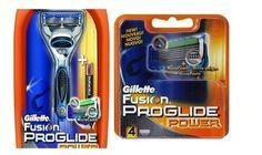 Gillette Fusion Proglide Power Razor And Cartridge Buy Online at Best Price in India: BigChemist.com
