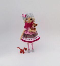 Crochet dolls collection