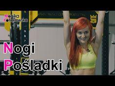 Ćwiczenia na Nogi i Pośladki - Monika Kołakowska - YouTube