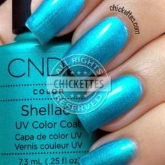 Hotski to Tchotchke Shellac Nail Colors, Cnd Shellac, Shellac Nails, Gel Manicure, Gel Nail Polish, Nail Studio, Natural Nails, Hair And Nails, Swatch