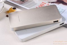 Aluminum alloy 10000mah mobile power bank Portable Charger for Android smartphones andiPhone gift