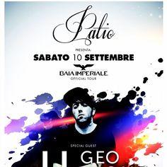 Sabato 10 settembre 2016 #patio #patioonenight #baiaimperiale #baiaimperialeparty special guest #geofromhell .... #dimitrimazzoni