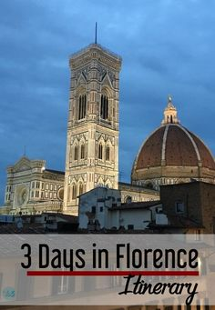 Florence itinerary |