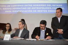 FIRMA CONVENIO EQUIPO ARGENTINO DE ANTROPOLOGÍA FORENSE CON GOBIERNO DEL ESTADO DE CHIHUAHUA