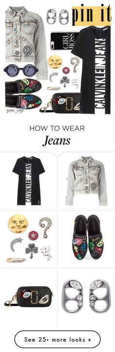"""""""Pins With Personality"""" by goreti on Polyvore featuring Marc Jacobs, Casetify, Calvin Klein Jeans, Chanel and pins"""