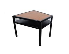 Side Table Trapezoidal Michael Taylor for Baker from the New World Collection by HearthsideHome on Etsy