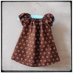Sweet Little Dress for Babies Pattern PDF, Leila and Ben
