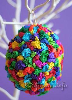 Easter Craft for Kids - Colorful Easter Egg