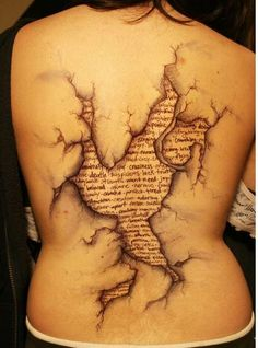 Whoa. One crazy tattoo.