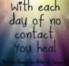 Healing from Narcissist Abuse- you can't start healing if you stay in contact with your ex, especially a Narcissist Narcissistic Mother, Narcissistic Abuse, Abusive Relationship, Toxic Relationships, Healthy Relationships, Broken Dreams, Trauma, Ptsd, It's Over Now