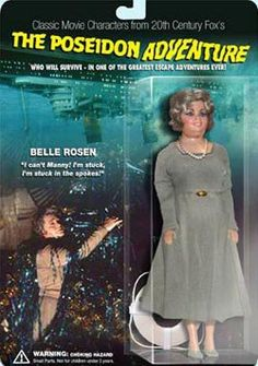 Little known fact- The Poseidon Adventure is my favorite disaster movie. Shelly Winters doll from The Poseidon Adventure