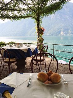 Breakfast with a view