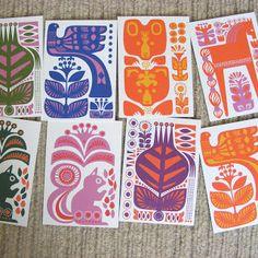 freshwater textiles: Sanna Annukka for Marimeko