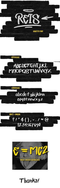 Buy REIS GRAFFITI FONT by Jelski on GraphicRiver. REIS is a graffiti style font. The font works great to make logos and short titles. Includes: - one weights (regular). Graffiti Font, Graffiti Styles, Handwritten Fonts, Typography Fonts, Typography Alphabet, Marker, Display Font, Hip Hop, History Posters