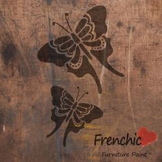 Painting Stencils - butterflies chalk paint stencils, craft supplies, paint supplies, stencils. by BirdcageBarn on Etsy