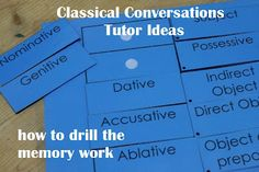 The Adventures of Bear: classical conversations weekly lesson plans cycle 1
