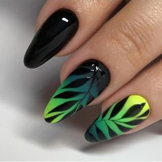 30 Amazingly Pretty Nail Art Ideas - It is time to try some really beautiful nailart ideas that would make your nails look really pretty - Acrylic Nail Designs, Nail Art Designs, Acrylic Nails, Nail Art Fleur, Ten Nails, Pretty Nail Art, Halloween Nail Art, Nagel Gel, Nails Inspiration