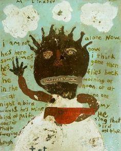 Artist..Misty Lindsey. Poem by Bukowski