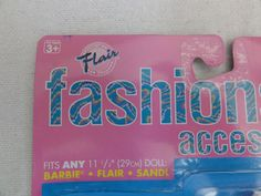 Flair Fashions + Accessories by Totsy suitable for Barbie etc still carded…