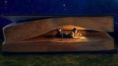 Cualquier rincón es bueno para sumergirse en las páginas de un buen libro.