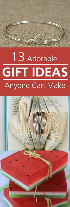 Not sure what to get for a gift? You can make it yourself it would also be unforgettable this way!