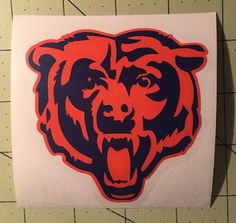 Chicago Bears Decal for Your Yeti Rambler Tumbler | eBay