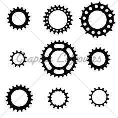 Bicycle Freewheel Cogs (Sprockets, Gears) Of Va...