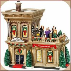 Regal Ballroom -UTube NEW Department Dept. 56 Christmas In The City Village CIC