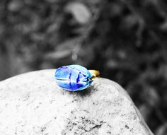 Egyptian Ring Scarab Ring African Ring Egyptian by AfriqueLaChic