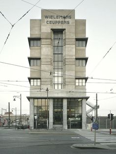 WIELS Contemporary Art Centre / designed by Adrien Bloome for the Wielemans-Ceuppens Brewery (Brussels, Belgium)