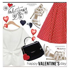 """V-Day Card for  PolyFriend! 4"" by paculi ❤ liked on Polyvore featuring Love Moschino, BillyTheTree, women's clothing, women, female, woman, misses, juniors, valentinesday and polyfriends"