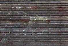 Fotobehang: Vergrijsde Houten Muur Industrial Wallpaper, Walls, Wall