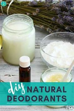 Deodorant is a necessary item for anyone who wants to eliminate body odor! Here are some recipes for DIY natural deodorants that you can make at home! #deodorant #DIY #naturalskincare #organicbeauty #organicskincare | naturalorganicskincare.com