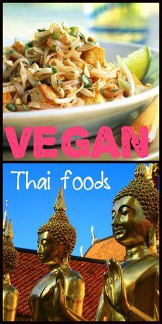Vegan and vegetarian foods in Bangkok - Thailand. Tips for the veggie traveler.