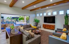 Toll Brothers - Living Room/Family Room